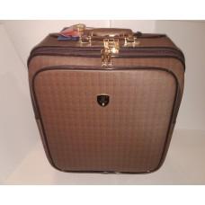 Дорожный Чемоданчик 50-40-20 коричневый с золотой фурнитурой.