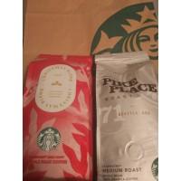 Starbucks акция. Кофе в зернах.