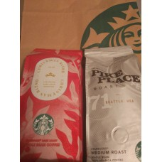Starbucks . Кофе в зернах.